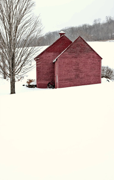 barns on RED BARN ROAD, Quechee , VT #8