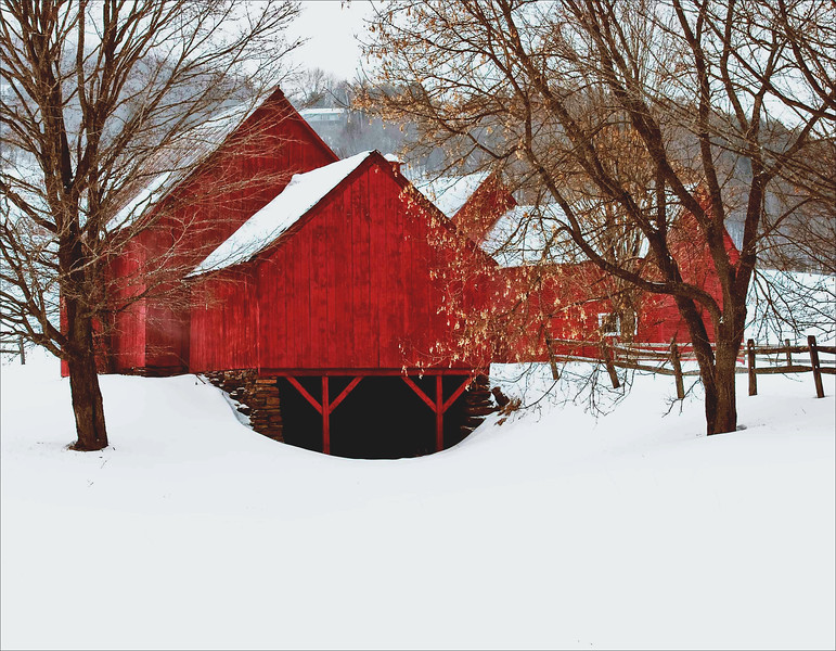 barns on RED BARN ROAD, Quechee , VT #11