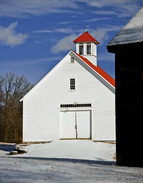 2 barns at Muster field Farm , N.Sutton, NH #3