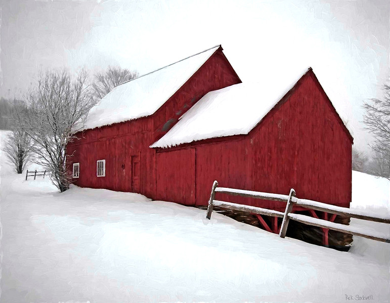 barns on RED BARN ROAD, Quechee , VT #15