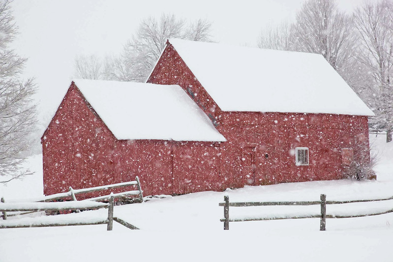 barns on RED BARN ROAD, Quechee , VT #3