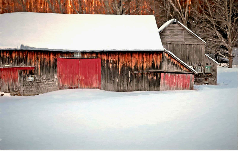 Barns at  Croydon, NH