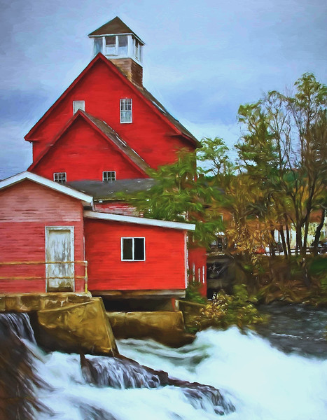 Mill at  Alton Bay, NH
