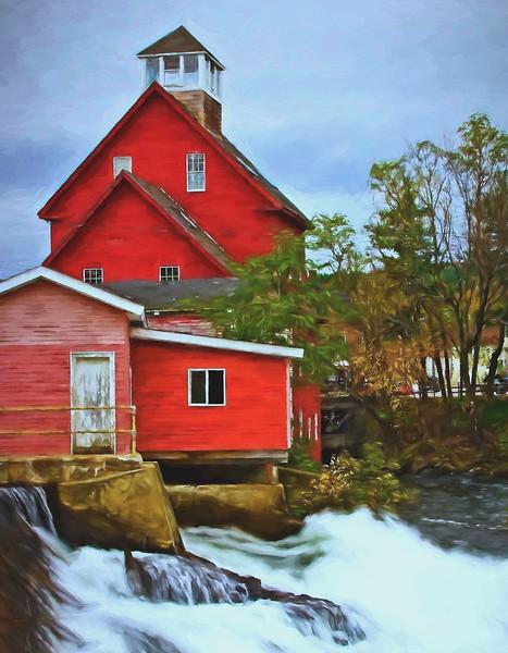 Mill at  Alton Bay, NH
