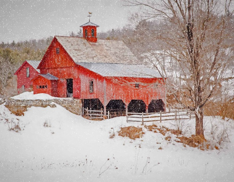 Keene Barn, Hurricane rd, NH