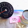 50- ORIGINAL Speedometer & Center Gauge Filler
