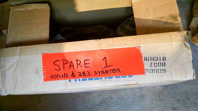 S01 - USED Horns & 383 Starter