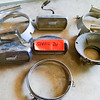 S26 - USED Headlight Rings & Front Parking Lights