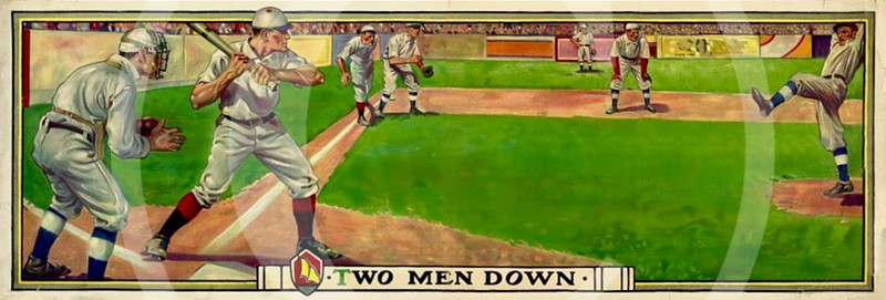 """Two Men Down"" 1909."