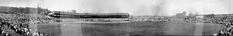 Chicago Cubs NL vs Pittsburg Pirates NL, 2 July 1908.
