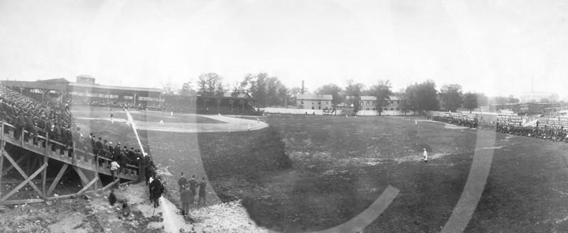 National Park, Washington, D C , Philadelphia vs Washington, May 6, 1905, attendance 9,300.