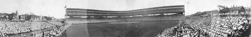 Wrigley Field, Chicago Cubs NL, July 1929.