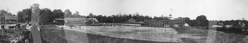 Baseball field, Silver Lake, Ohio, 1905.