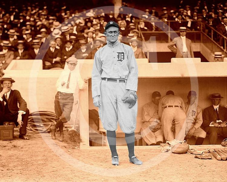Ty Cobb, Detroit Tigers  AL 1913