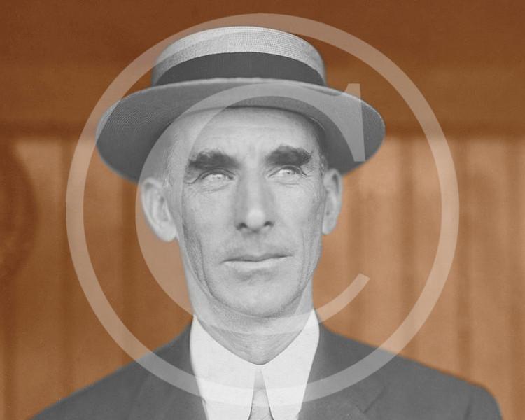 Connie Mack, manager Philadelphia Athletics AL 1911