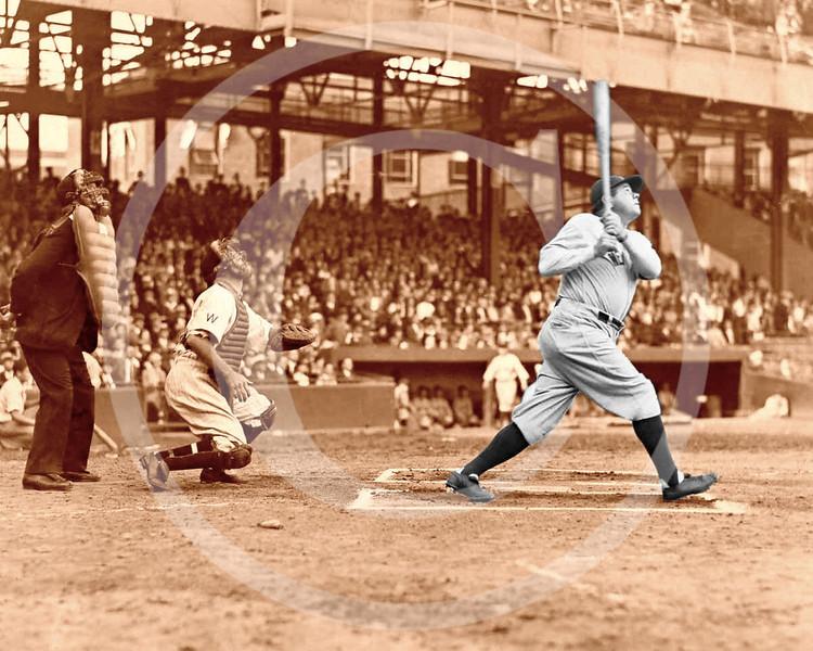 Babe Ruth, New York Yankees AL 1924