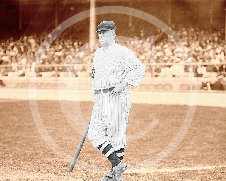 John McGraw,  manager New York Giants NL at Polo Grounds New York 1912