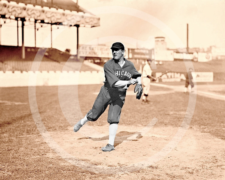 Eddie Cicotte, Chicago White Sox AL at the Polo Grounds New York 1913