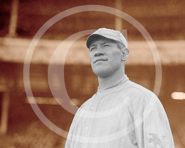 Jim Thorpe, New York Giants NL at Polo Grounds New York 1913