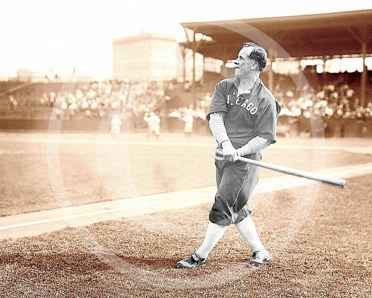 Kid Gleason, Chicago White Sox AL at Hilltop Park, NY 1912
