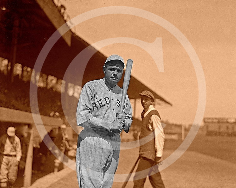 Babe Ruth, Boston Red Sox AL 1919