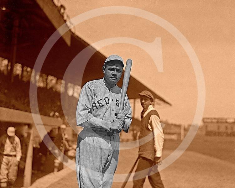 Babe Ruth, Boston Red Sox AL 1919