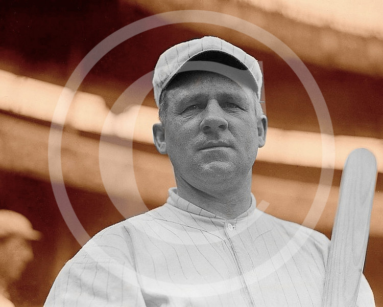 John McGraw,  manager New York Giants NL at Polo Grounds New York 1914