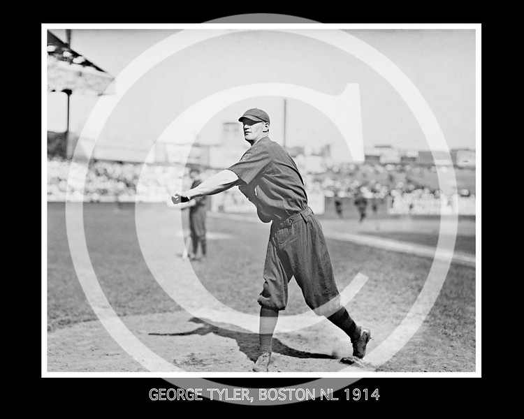 George Lefty Tyler,  Boston Braves NL, 1914.