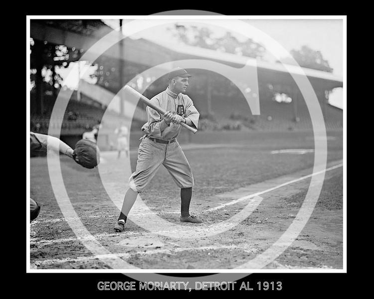 George Moriarty, Detriot Tigers AL, 1913.