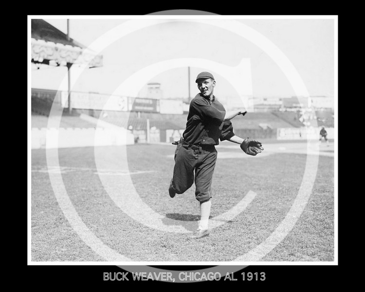 Buck Weaver, Chicago  White Sox AL, 1913.