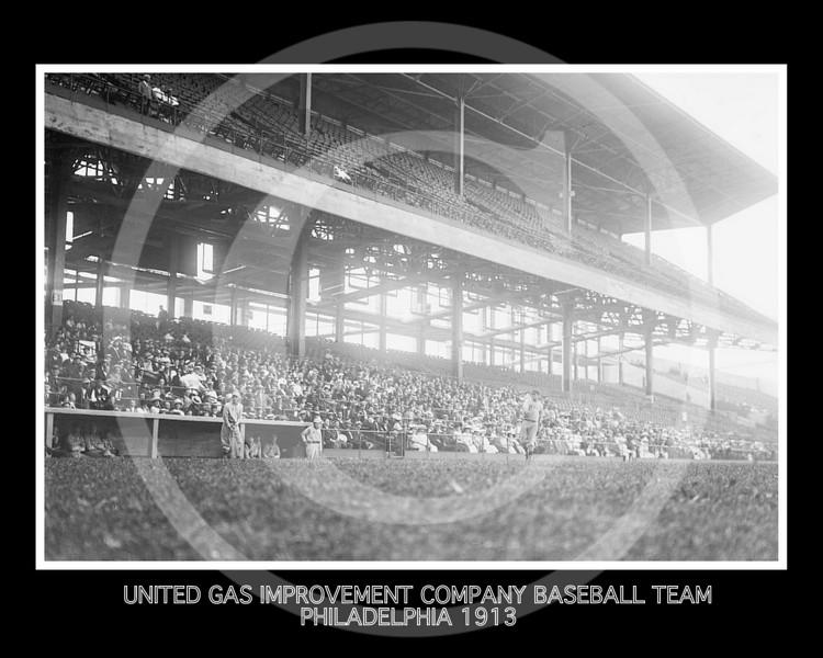 Baseball team representing United Gas Improvement company of Philadelphia 1913.