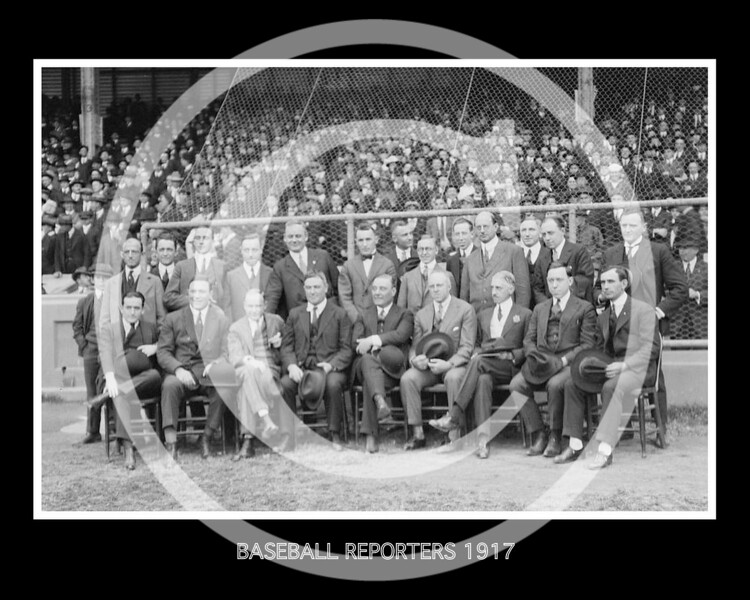BASEBALL REPORTERS 1917