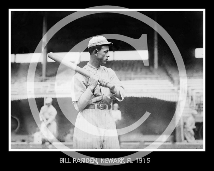 "William Angel ""Bill"" Rariden, Newark Federal League 1915."