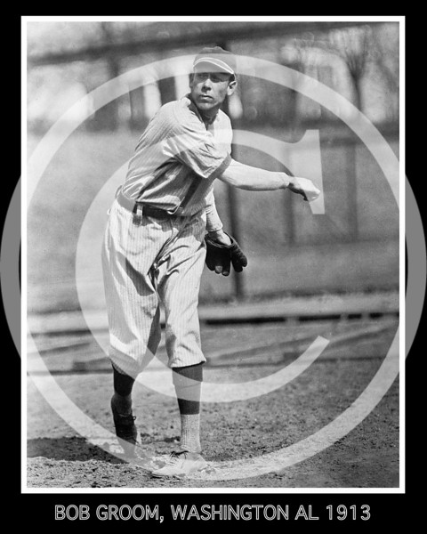 Bob Groom, Washington Senators AL, 1913.