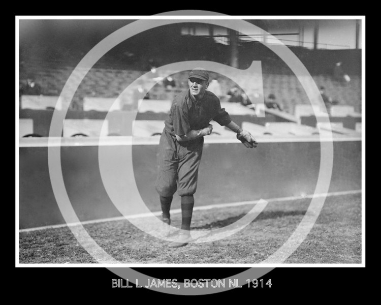 Bill Lawrence James, Boston Braves NL, 1914.
