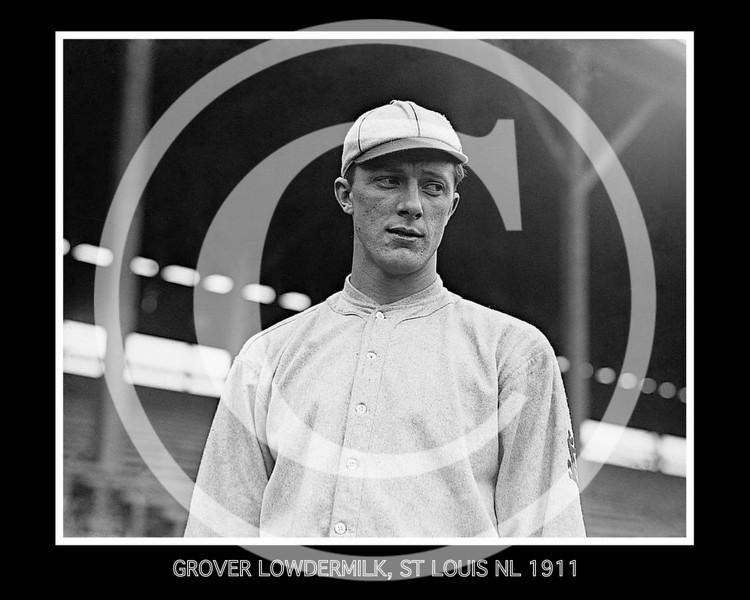 Grover Lowdermilk, St. Louis Cardinals NL, 1911.