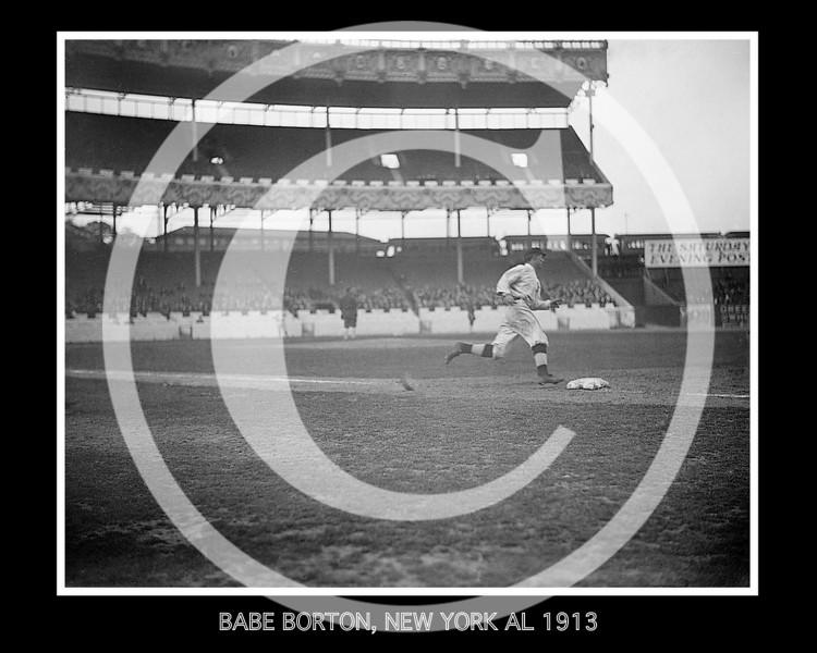 Babe Borton, New York Yankees AL, at Polo Grounds 1913..jpg