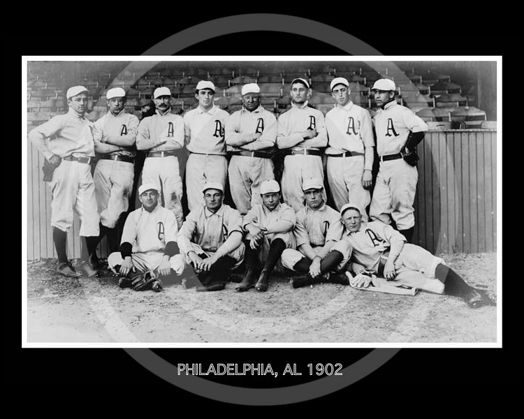 Philadelphia Athletics AL,1902.