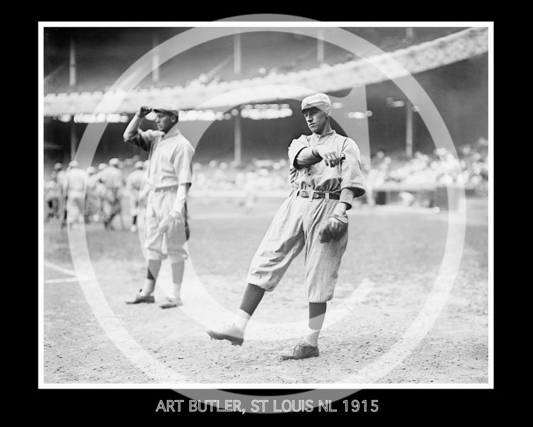 Art Butler, St. Louis Cardinals NL, 1915.