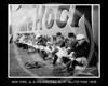 Philadelphia Athletics AL - New York Highlanders AL & Philadelphia Athletics AL, pre-game Opening Day at Hilltop Park NY, 14 April 1908.
