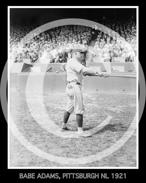 Babe Adams, Pittsburgh NL 1921