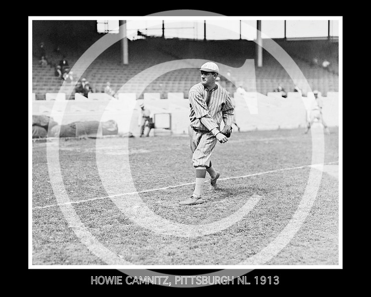 Howie Kamnitz, Pittsburgh Pirates NL, 1913.