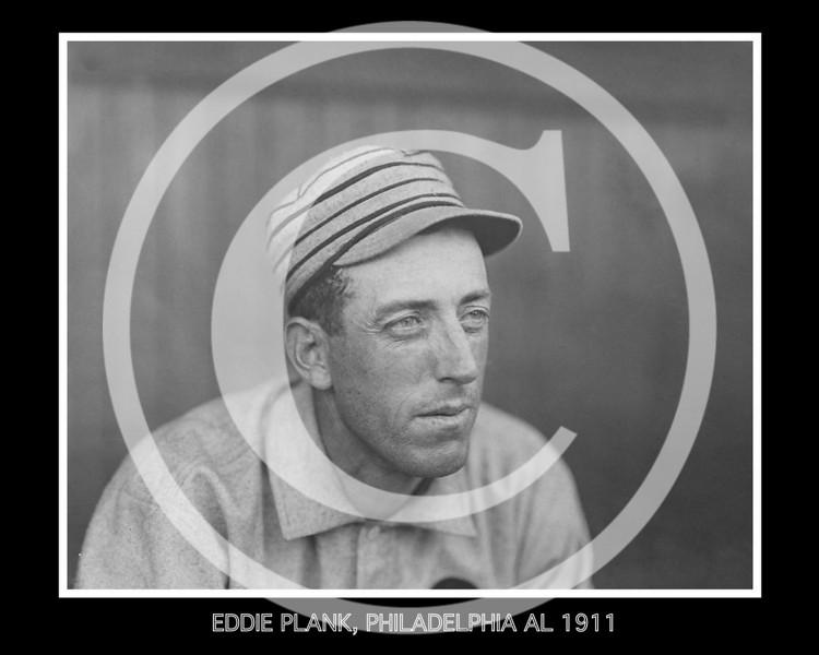 Eddie Plank, pitcher for the Philadelphia Athletics AL, 1911.