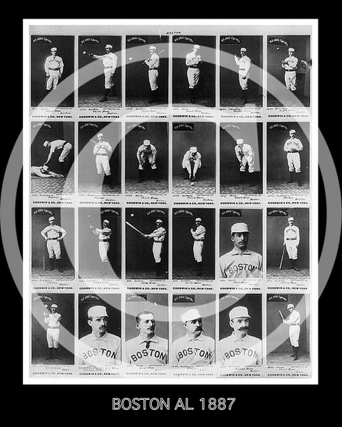 Boston Baseball Club 1887