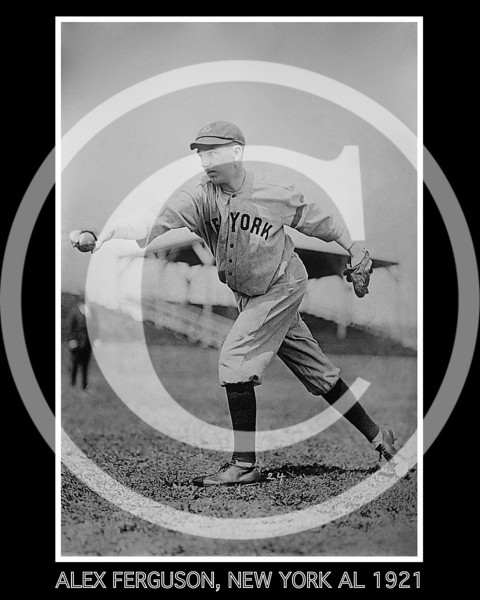Alex Ferguson, New York Yankees AL, 1921.