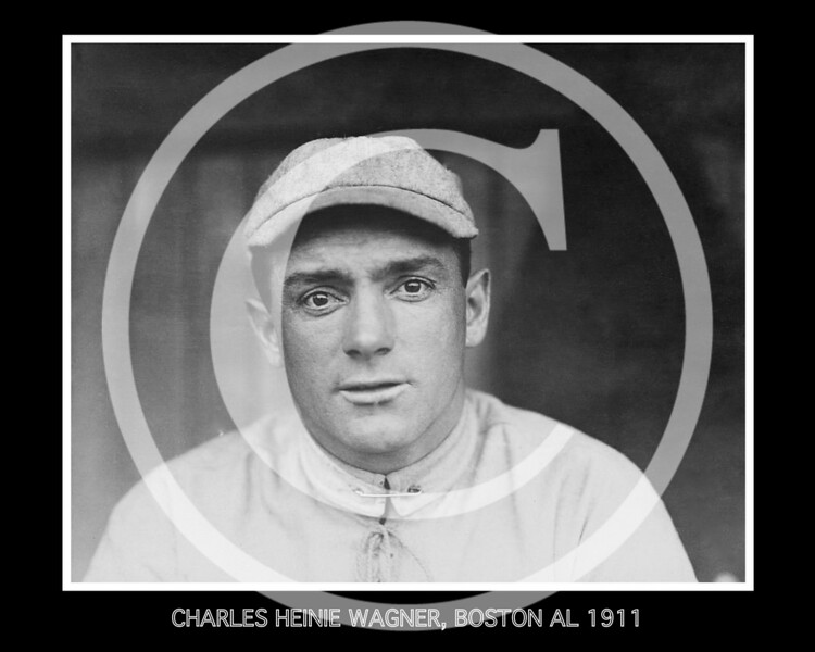 Charles Heinie Wagner, Boston Red Sox AL, 13 May 1911.