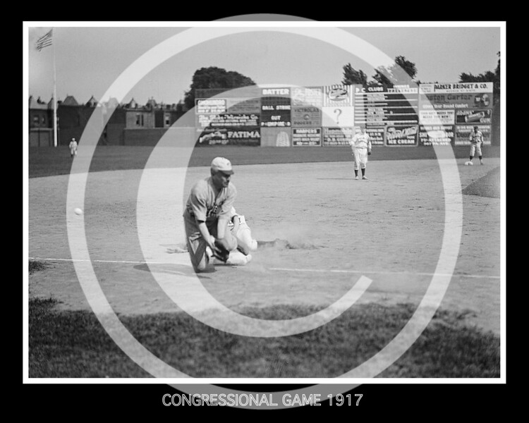 Congressional game, 1917.