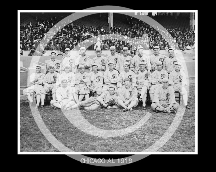 Chicago White Sox AL, 1919.
