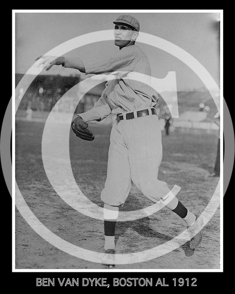 Ben Van Dyke, Boston Red Sox AL, 1912.