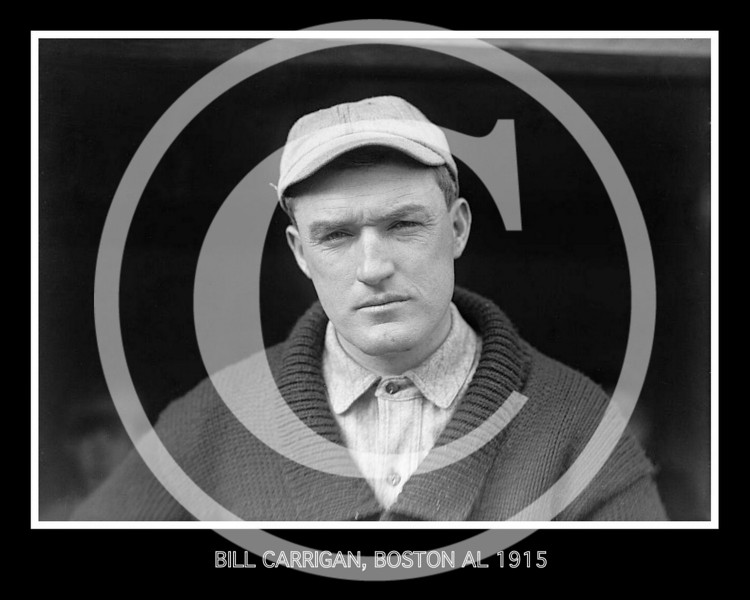 Bill Carrigan, Boston Red Sox AL, 1915.